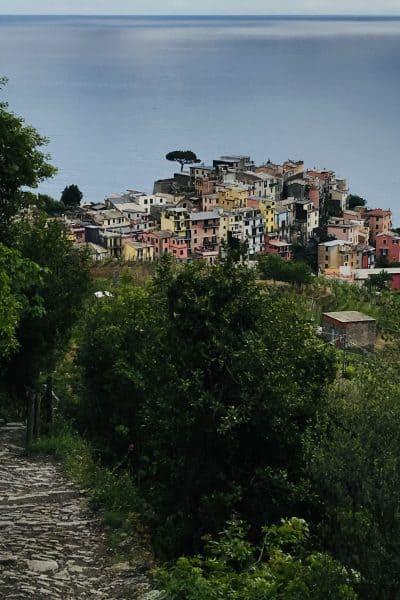 Corniglia in Cinque Terre Italy
