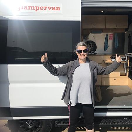 What's inside a Glampervan? I toured the Dodge Ram Promaster campervan conversion