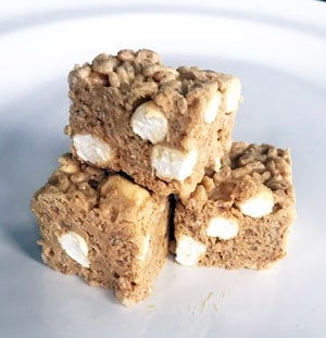 White Chocolate Peanut Butter Rice Krispy Treats, Better Than the Original and Just in Time for a No-Bake Valentine