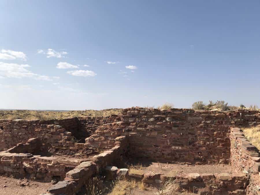 Homolovi Hopi ruins