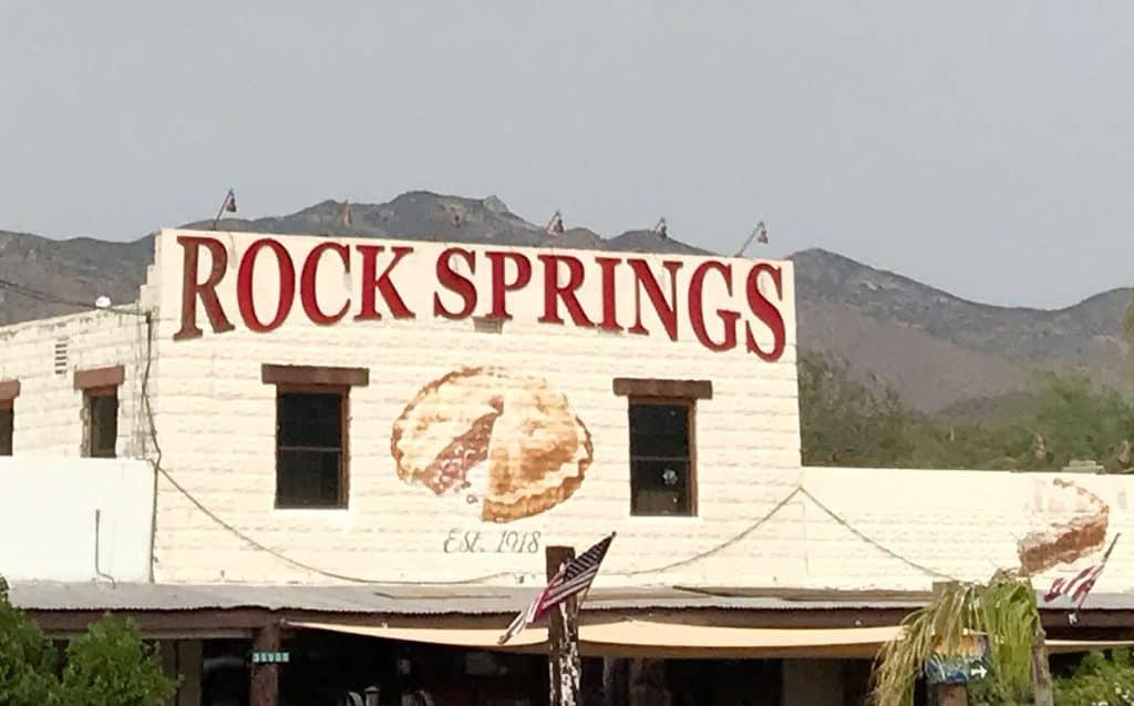 Rock Springs Cafe in Black Rock City AZ.