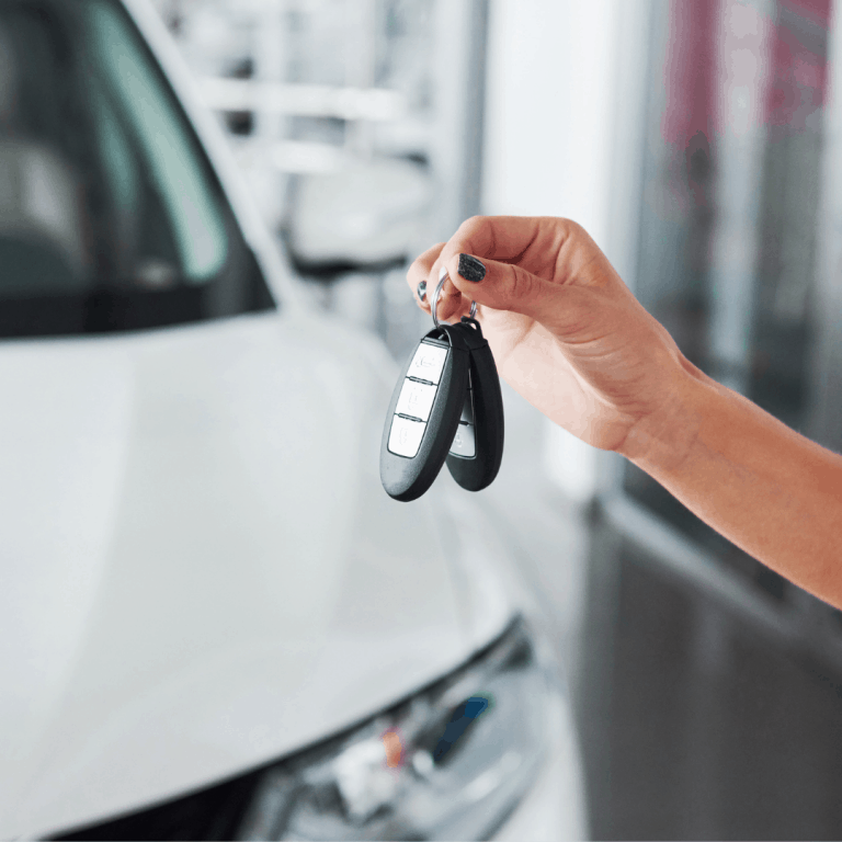 Getting keys to a new van